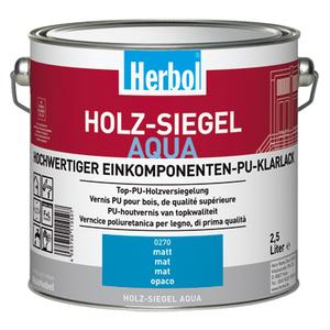 Holz-Siegel Aqua